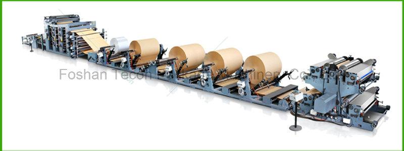 Automatic Paper Bag Bottom Pasting Machine