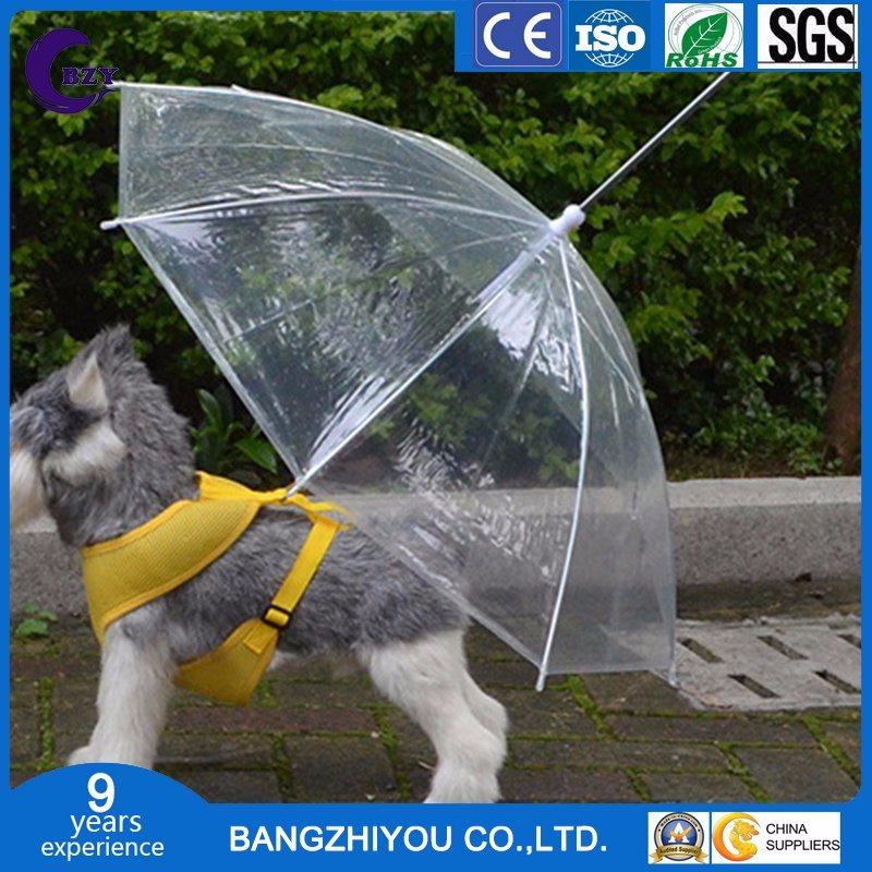 Fashion Design Outdoor Promotional Pet PVC Transparent Promotional Umbrella