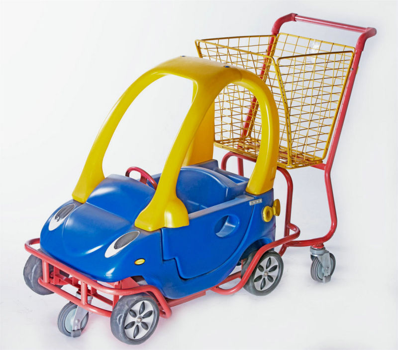 Kids Trolley with Plastic