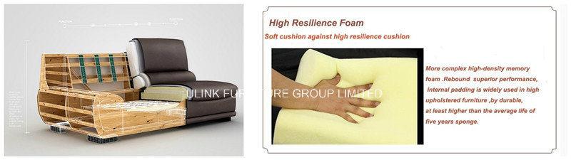 New Design Luxurious Classic Royal Corner Leather Sofa (HX-8N0520)