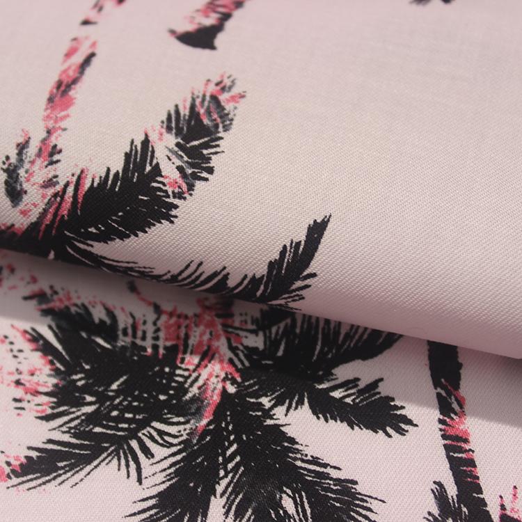 tencel lyocell printing woven fabric