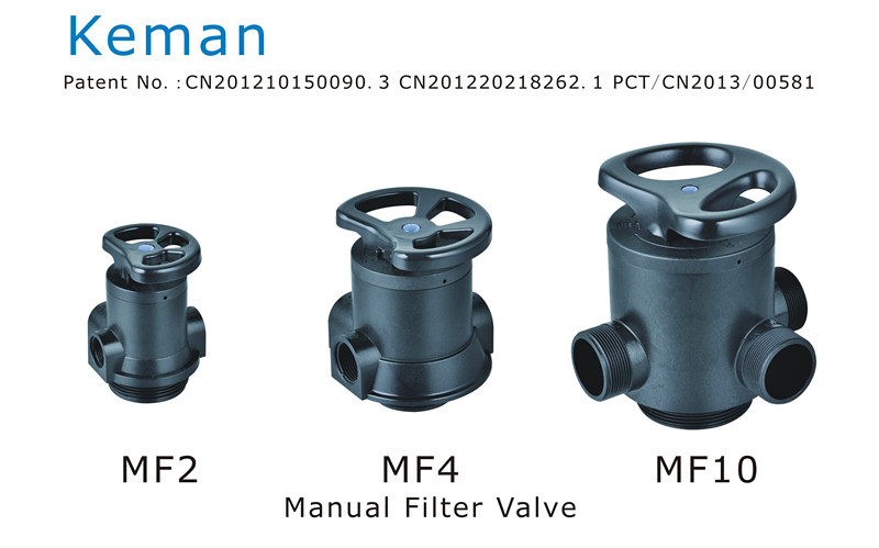 Keman Brand Manual Filter Valve for Home Use