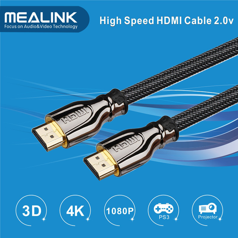 Ultra High Speed 4k HDMI 2.0 Cable with Ethernet Audio Return 4k*2k