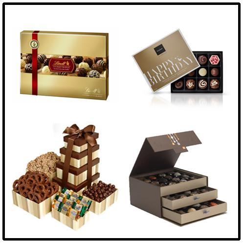 Valentine's Day Chocolate Box with Tray