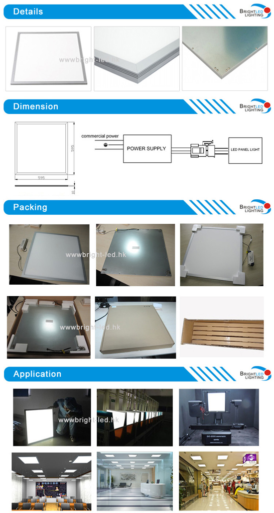 High Quality Slim Dimmable Shanghai Ceiling LED Panel