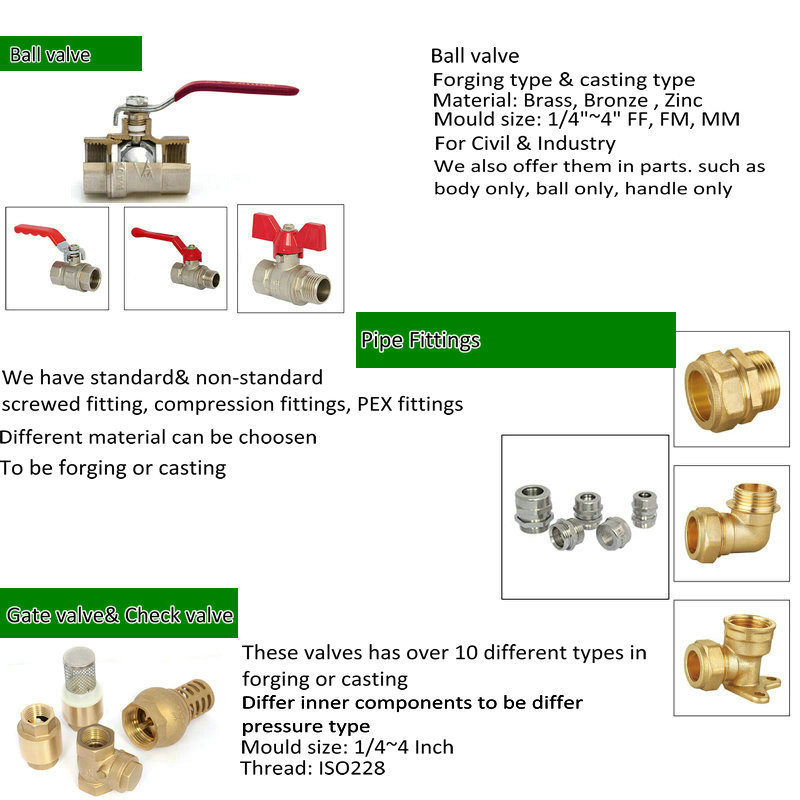 Automatic Brass Pressure Reducing Water Valve (AV-B-3)