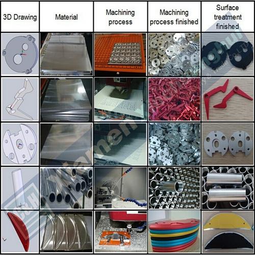 CNC Turning Aluminum CNC Machining for Motorcycle