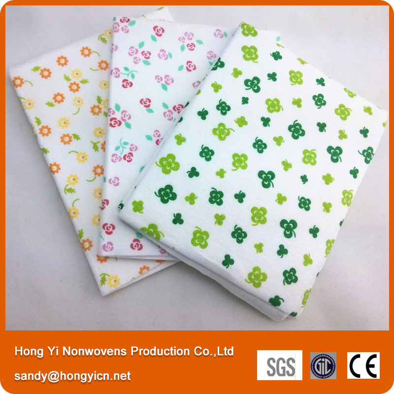 Good Absorption Non-Woven Fabric Cloth, Needle Punched Non-Woven Wipe Cloth