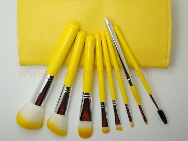 8PCS Private Label Synthetic Cosmetic Makeup Brush Set