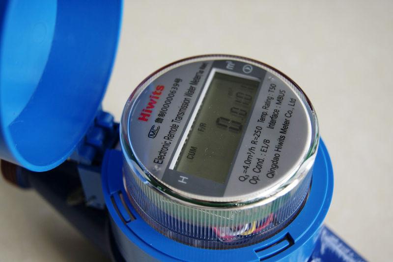 Multi Jet Dry Type Plastic Electronic Water Meter Cold Water Meter