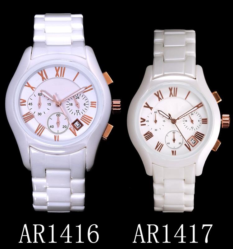 Black Ceramic Watch Hand Watch for Men, Wristwatch for Men and Women