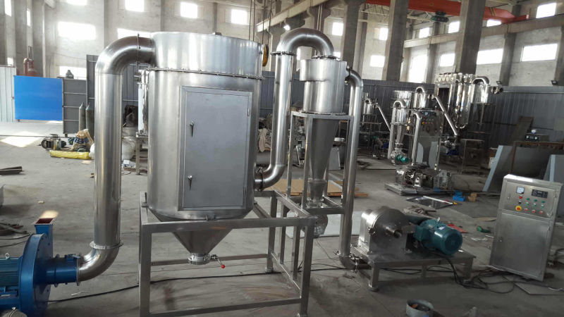 Stainless Steel Spice Grinding Machines with Dust Collection