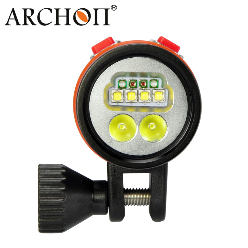 Archon 2600 Lumens Ys Mounting Bracket Scuba Diving Light Video