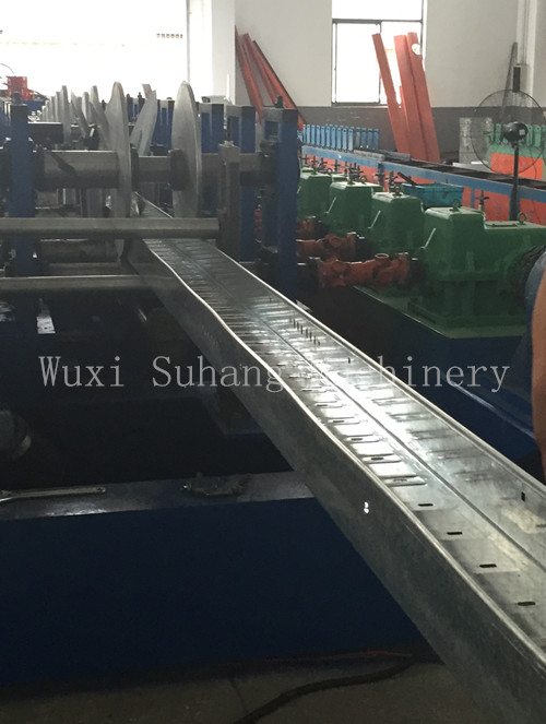Metal Cold Roll Steel Sheet Cable Tray Roll Forming Machine