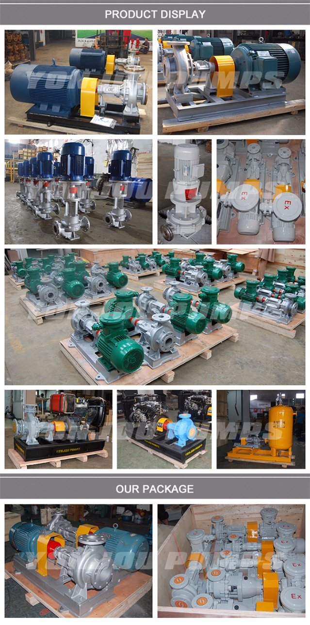 Thermal Oil Circulation 370 Degree Hot Oil Pump