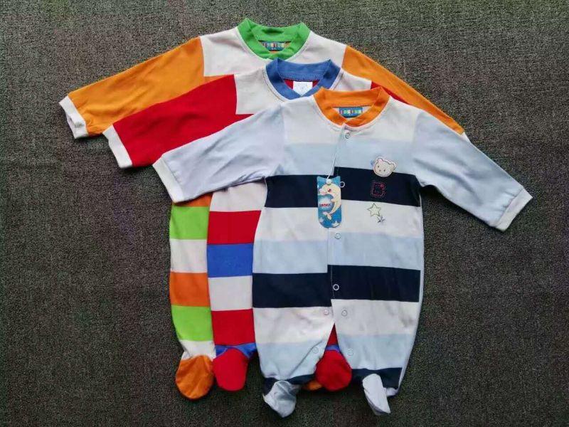 Baby Romper Summer/Autumn Jumpsuit/Romper 100% Cotton Stock Apparel for 0m-24m