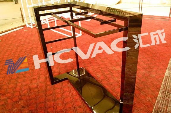 Stainless Steel Chairs Table Frame Furniture PVD Titanium Coating Machine