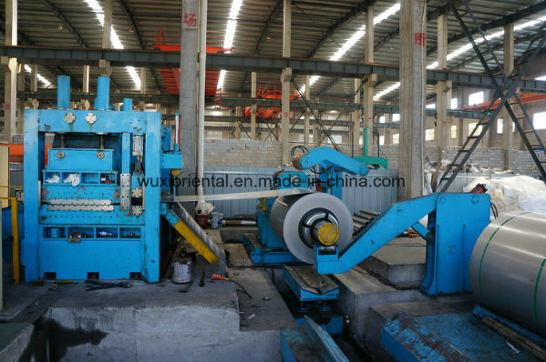 Automatic High-Speed Continual Cut to Length Machine Line Steel Punching Line