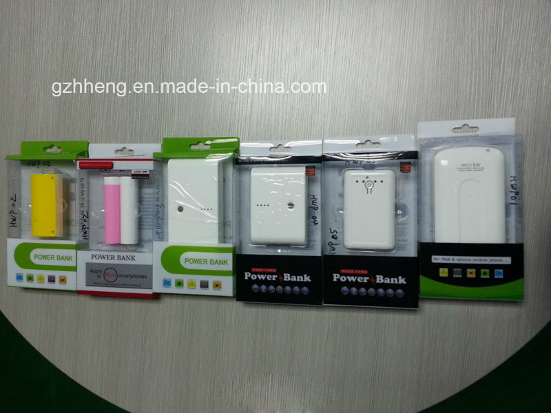 Gift Power Bank Plastic Box for Electronic Products (Packaging box)