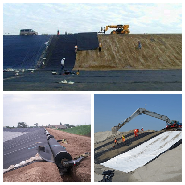 2mm HDPE Geomembrane for Pond Liner