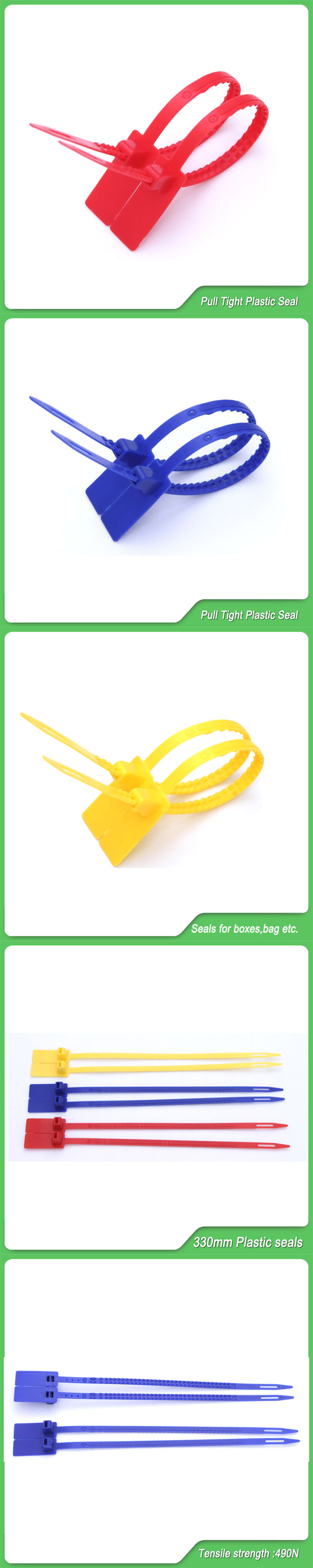 Security Seal (JY-330) , Plastic Seal