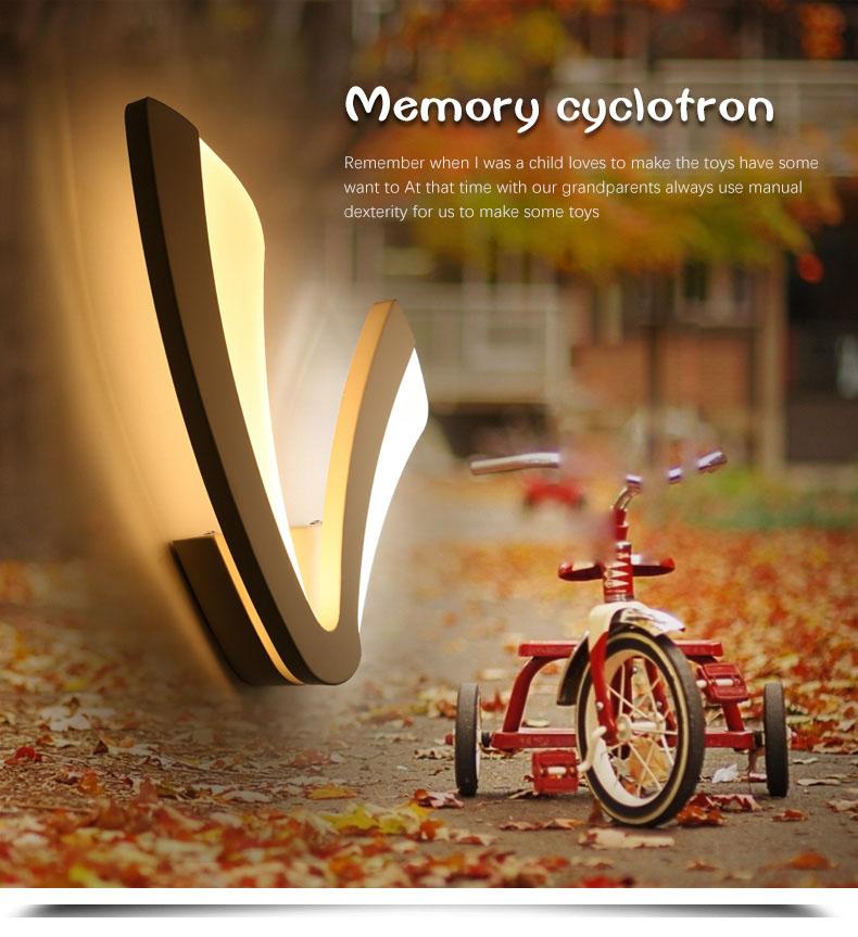 Contemporary Energy Saving Decorative Lamp LED Wall Mounted Light