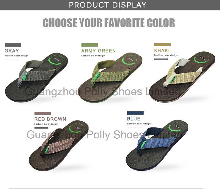 Men's Casual Sandals Shoe EVA Flip Flop