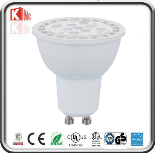 ETL Energy Star 7W SMD LED GU10 PAR16