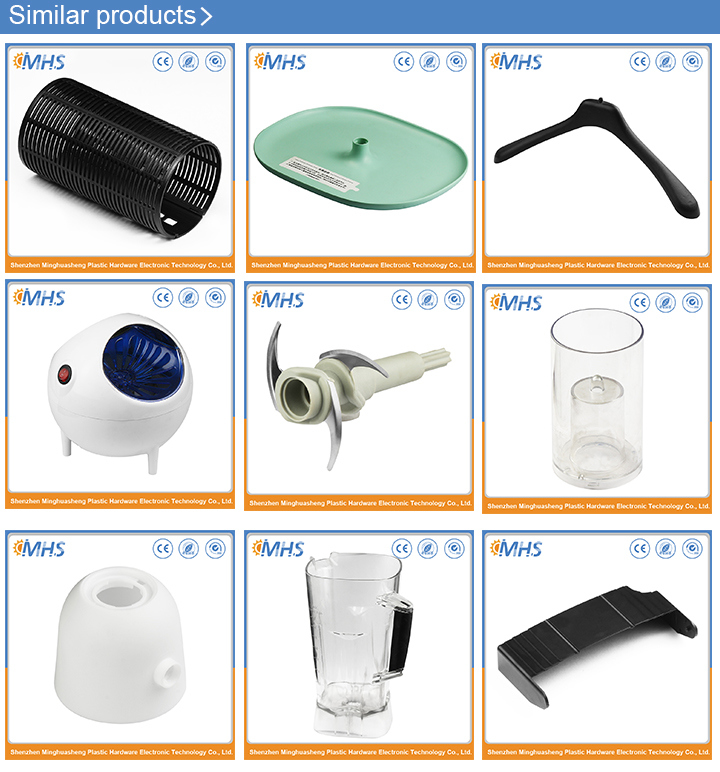 High-Quality Home Appliance PC&PP Plastic Injection Part for Juice Machine