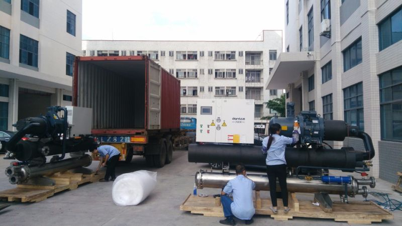 Air Cooled Screw Type Industrial Water Chiller