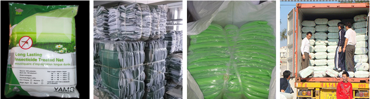 100%Polyethylene Treated Net Incorporated Whopes Recommended Long Lasting Deltamethrin