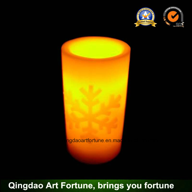 Flameless Candles with Flickering Battery Powered and Real Wax