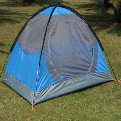 2 Persons 7.9mm Fiberglass Pole Outdoor Automatic Tent