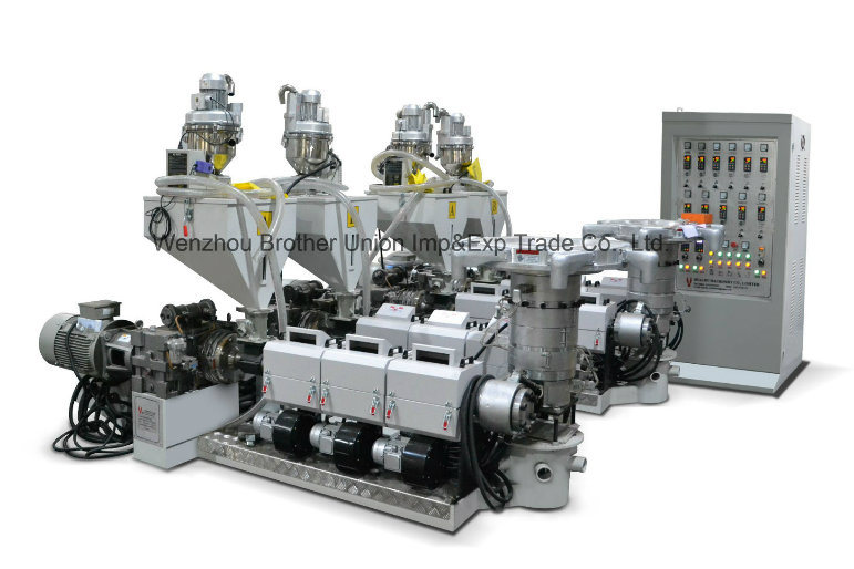 High-Speed HDPE LDPE ABA Film Blowing Machine