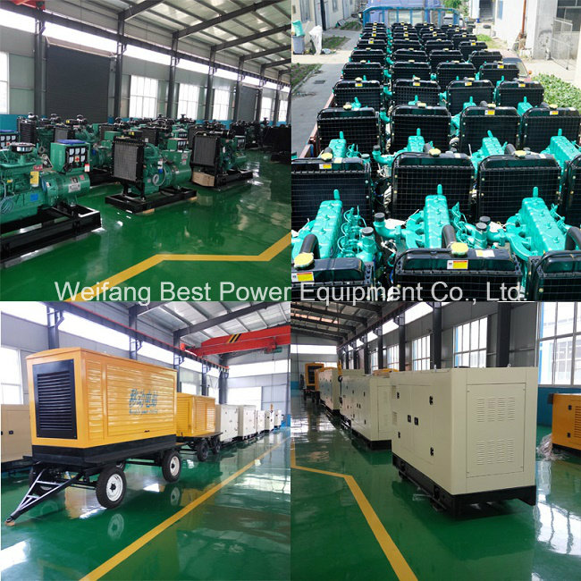 China 500kVA Baudouin Diesel Engine Series Power Generating Set Factory
