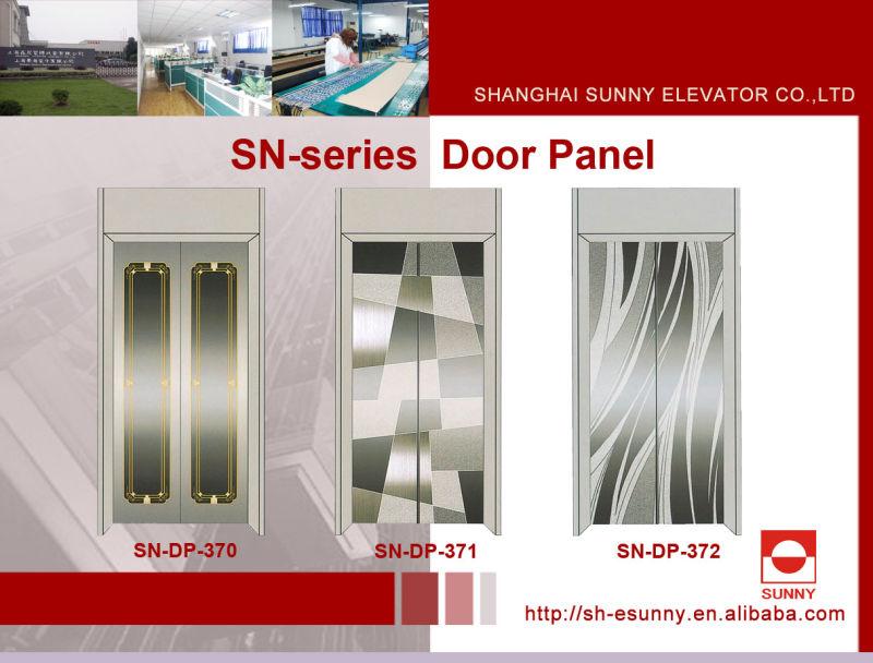 Elevator Door Panel with Reticular Pattern (SN-DP-316)
