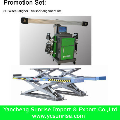 Garage Equipment Promotion of 3D Wheel Alignment and Others