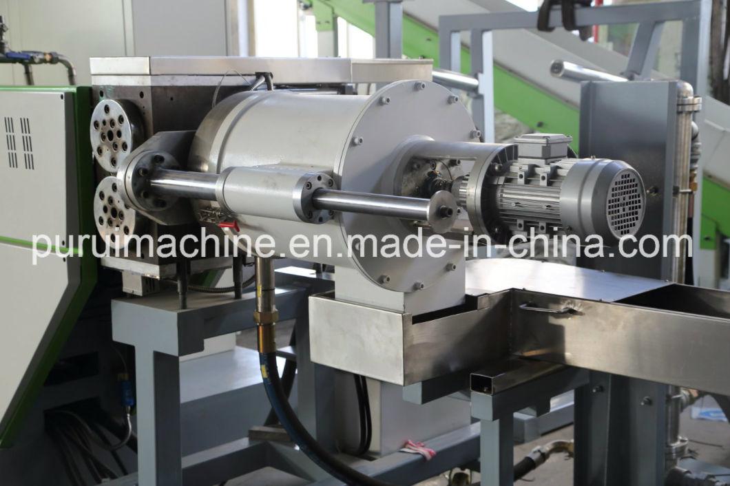 Waste PP PE Film Recycling Plastic Granulating Machine