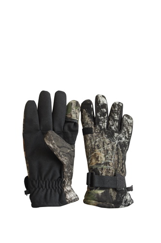 Compective Price Made in China Camouflage Fishing Glove