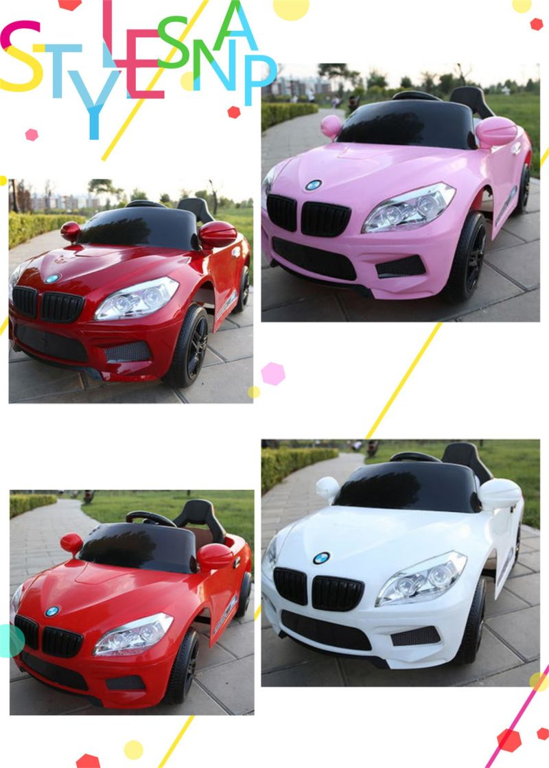 Cheap Electric Kids Car Battery Operated Car with BMW Brand