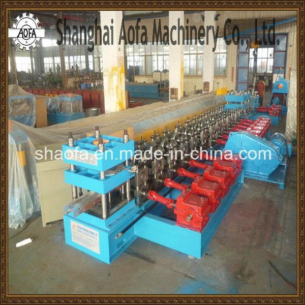 Galvanized Steel W Beam Profile Highway Guardrail Roll Forming Machine