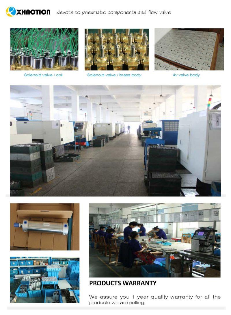 Pneumatic Valve Factory Produce Solenoid Valve