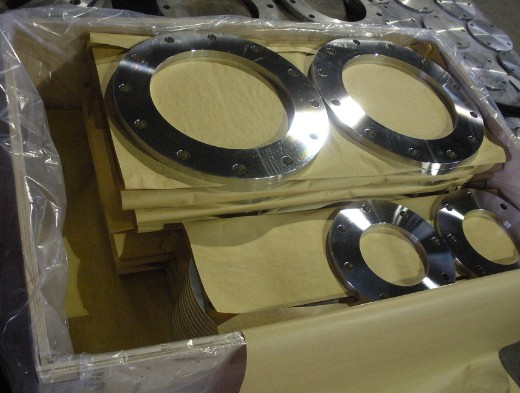 Bridas Forjadas (Forged Flange) Acero Forjado ASTM A105 Clase 150 Brida