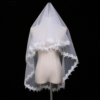 Lace Tulle 1.5 Meters Bridal Wedding Veil
