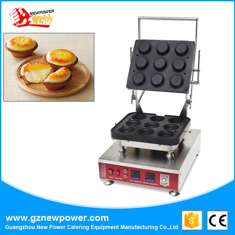 Egg Tart Maker Tartlet Machine Egg Tart Shell Molds Machine with Ce