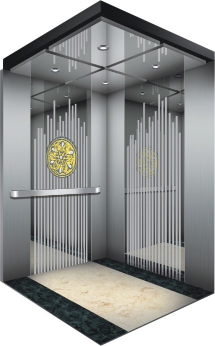 Machine Room Gearless Commercial Passenger Lift Elevator for Hotel Hot