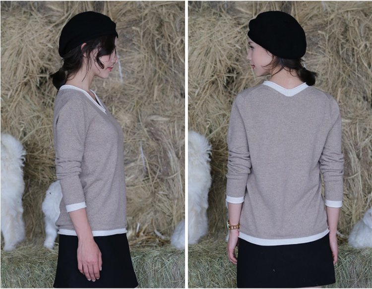 Hot Selling New Fashion Design Women Cashmere Sweater, Cashmere Sweater Women