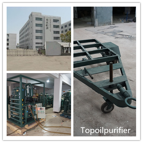 High Effective Vacuum Engine Oil Purifier with Water Separator