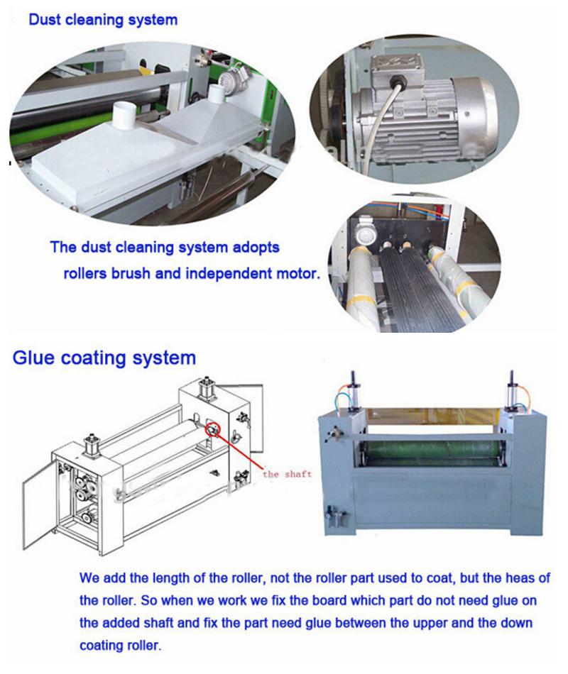 Solvent Glue Film Sticking Machine
