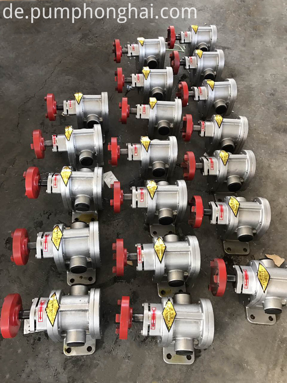 stainless steel 304 electric gear oil pumps bare pump